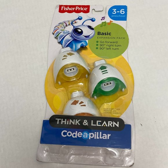 Fisher Price Think And Learn Code-a-pillar Basic